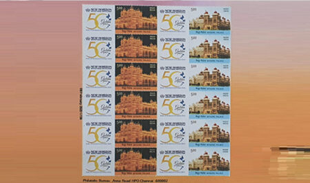 India Post Stamps on NHEI Golden Jubilee Year!