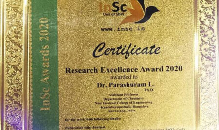 Research Excellence Award